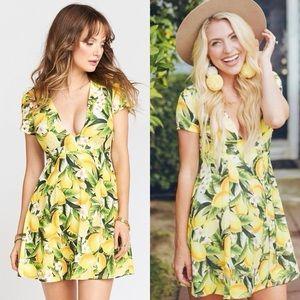 Show Me Your MuMu Ibiza Dress in Citrus Stretch